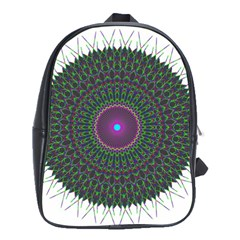 Pattern District Background School Bags (XL)
