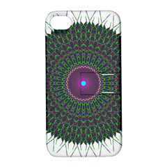 Pattern District Background Apple Iphone 4/4s Hardshell Case With Stand