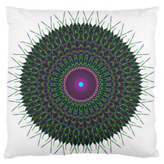 Pattern District Background Large Flano Cushion Case (one Side)