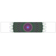 Pattern District Background Flano Scarf (Large)
