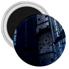Graphic Design Background 3  Magnets