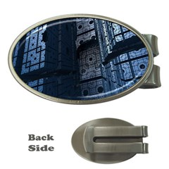 Graphic Design Background Money Clips (Oval)