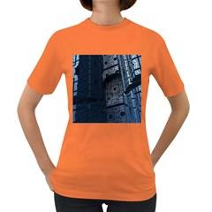 Graphic Design Background Women s Dark T-Shirt