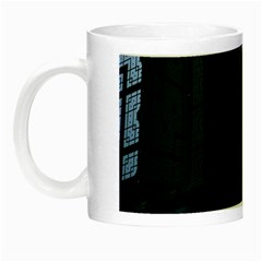 Graphic Design Background Night Luminous Mugs