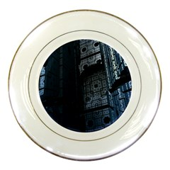 Graphic Design Background Porcelain Plates