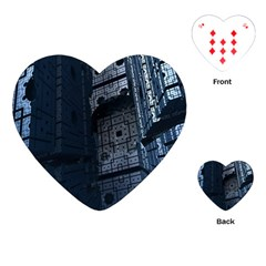 Graphic Design Background Playing Cards (Heart)