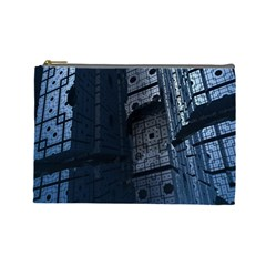 Graphic Design Background Cosmetic Bag (large)