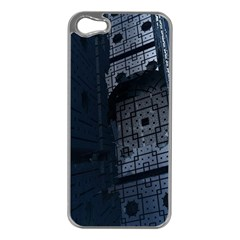 Graphic Design Background Apple iPhone 5 Case (Silver)