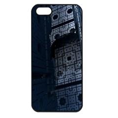 Graphic Design Background Apple Iphone 5 Seamless Case (black)