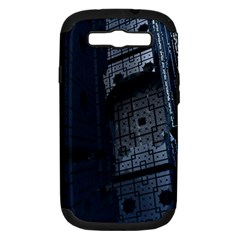 Graphic Design Background Samsung Galaxy S Iii Hardshell Case (pc+silicone)