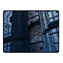 Graphic Design Background Double Sided Fleece Blanket (Small)