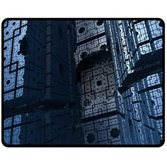 Graphic Design Background Double Sided Fleece Blanket (Medium)