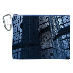 Graphic Design Background Canvas Cosmetic Bag (XXL)