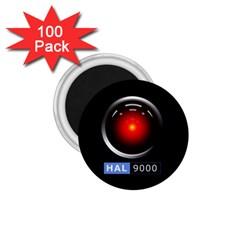 Hal 9000 1 75  Magnets (100 Pack)