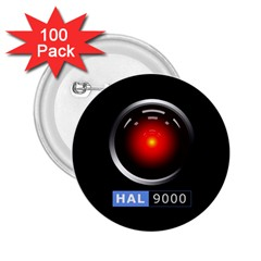 Hal 9000 2 25  Buttons (100 Pack)