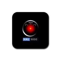 Hal 9000 Rubber Square Coaster (4 Pack)