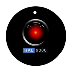Hal 9000 Round Ornament (Two Sides)
