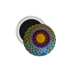 Temple Abstract Ceiling Chinese 1 75  Magnets