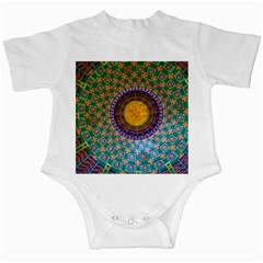 Temple Abstract Ceiling Chinese Infant Creepers