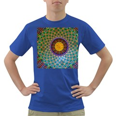 Temple Abstract Ceiling Chinese Dark T Shirt