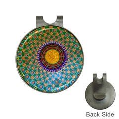 Temple Abstract Ceiling Chinese Hat Clips with Golf Markers