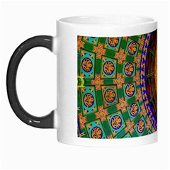 Temple Abstract Ceiling Chinese Morph Mugs