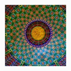 Temple Abstract Ceiling Chinese Medium Glasses Cloth (2-Side)
