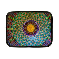 Temple Abstract Ceiling Chinese Netbook Case (Small)