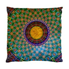 Temple Abstract Ceiling Chinese Standard Cushion Case (one Side)