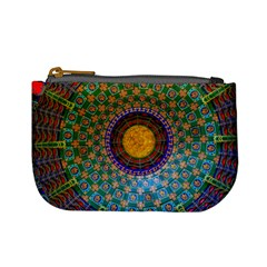Temple Abstract Ceiling Chinese Mini Coin Purses