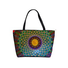 Temple Abstract Ceiling Chinese Shoulder Handbags
