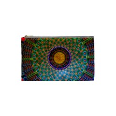Temple Abstract Ceiling Chinese Cosmetic Bag (Small)