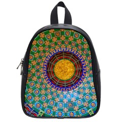Temple Abstract Ceiling Chinese School Bags (small)