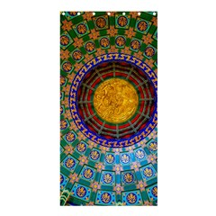 Temple Abstract Ceiling Chinese Shower Curtain 36  x 72  (Stall)