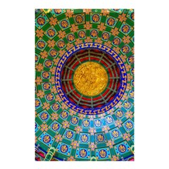 Temple Abstract Ceiling Chinese Shower Curtain 48  X 72  (small)