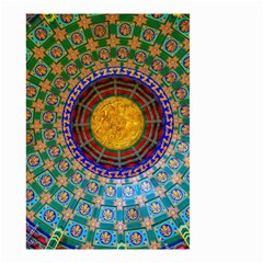 Temple Abstract Ceiling Chinese Small Garden Flag (two Sides)