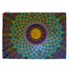 Temple Abstract Ceiling Chinese Cosmetic Bag (xxl)