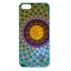 Temple Abstract Ceiling Chinese Apple Seamless Iphone 5 Case (color)