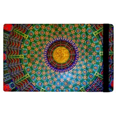 Temple Abstract Ceiling Chinese Apple Ipad 2 Flip Case