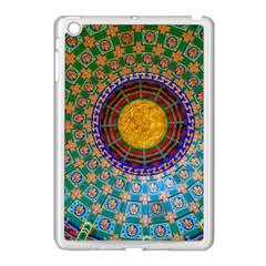 Temple Abstract Ceiling Chinese Apple iPad Mini Case (White)