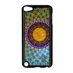 Temple Abstract Ceiling Chinese Apple Ipod Touch 5 Case (black)