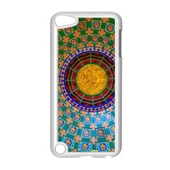 Temple Abstract Ceiling Chinese Apple Ipod Touch 5 Case (white)