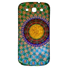 Temple Abstract Ceiling Chinese Samsung Galaxy S3 S Iii Classic Hardshell Back Case
