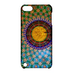 Temple Abstract Ceiling Chinese Apple iPod Touch 5 Hardshell Case with Stand