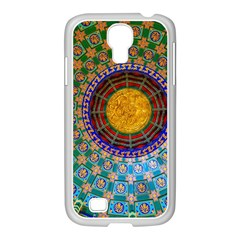 Temple Abstract Ceiling Chinese Samsung Galaxy S4 I9500/ I9505 Case (white)