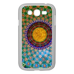 Temple Abstract Ceiling Chinese Samsung Galaxy Grand Duos I9082 Case (white)
