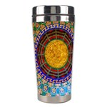 Temple Abstract Ceiling Chinese Stainless Steel Travel Tumblers Center
