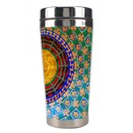 Temple Abstract Ceiling Chinese Stainless Steel Travel Tumblers Right