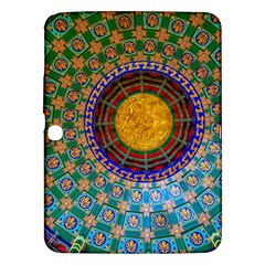 Temple Abstract Ceiling Chinese Samsung Galaxy Tab 3 (10 1 ) P5200 Hardshell Case