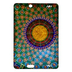 Temple Abstract Ceiling Chinese Amazon Kindle Fire Hd (2013) Hardshell Case